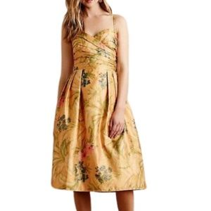 NWT Anthropologie James Coviello Botanica Dress 8